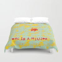 harry Duvet Covers featuring HARRY by Pierrot Doll Design Studio