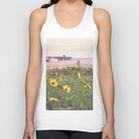 daisies Tank Tops featuring Daisies by AnchorMySoul