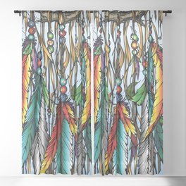 Dreamcatcher Sheer Curtain