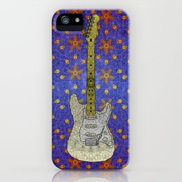 White Strat iPhone Case