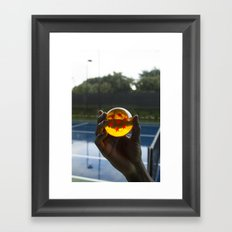 TENNIS(DRGN)BALL. Framed Art Print