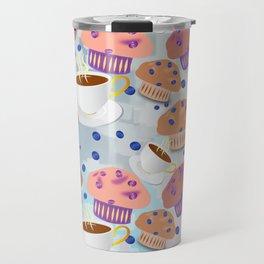 Muffins and Coffee Travel Mug