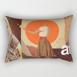 Archival World Rectangular Pillow
