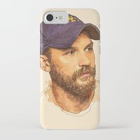 tom selleck iPhone & iPod Cases featuring Tom by Roxy Color
