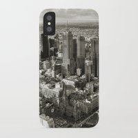 melbourne iPhone & iPod Cases featuring Melbourne City by Ewan Arnolda