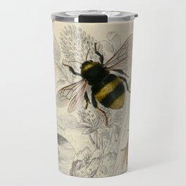 Naturalist Bee And Wasps Travel Mug