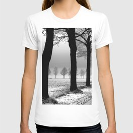Snowy Day in the Country T-shirt
