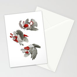 We Three Kinglets Stationery Cards
