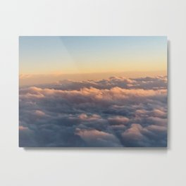 Clouds from Above Metal Print