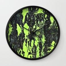 The Green Swim Wall Clock