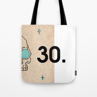 30 seconds to mars Tote Bags featuring 30. by Jim Lockey