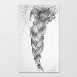 Hair four Canvas Print