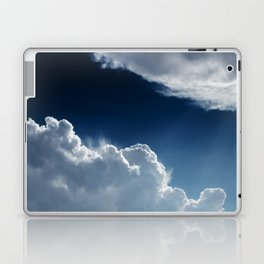 Sky, clouds and lights. Laptop & iPad Skin