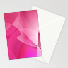 Pink Curves Stationery Cards