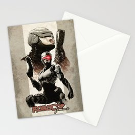 Robocop Girl - Desafío52 Stationery Cards