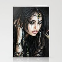 gypsy Stationery Cards featuring Gypsy by Justin Gedak