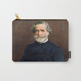 Giuseppe Verdi (1813 – 1901) by Giovanni Boldini (1842 - 1931) Carry-All Pouch