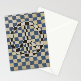 Peace square Stationery Cards