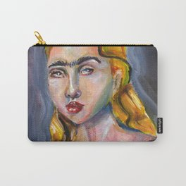 Modern Mona Lisa Carry-All Pouch