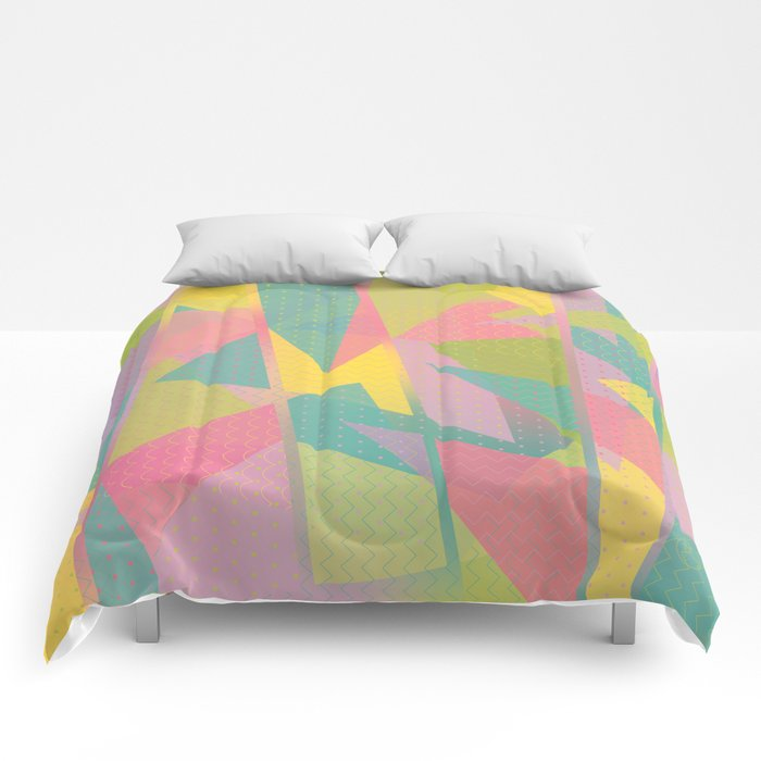 Abstract Geometric Pattern - Sugar Crush Comforters
