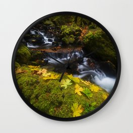 Dividing the Forest Wall Clock