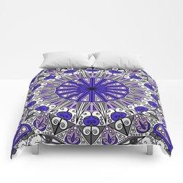 Boho Indian Mandela Pattern Variant 3 Comforters