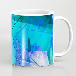 Vaporwave - Geometric Abstract Art Coffee Mug