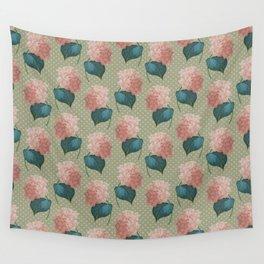 Redoute Hydrangea Wall Tapestry