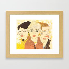 Withdrawing from Reality Framed Art Print