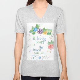 Quote for Life Unisex V-Neck