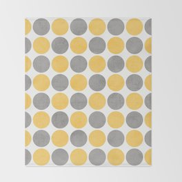 summer time dots Throw Blanket