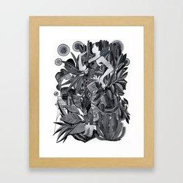 Dream Leotard Framed Art Print