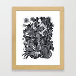 Dream Leotard Framed Art Print