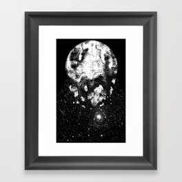 The Moon Is Down Framed Art Print