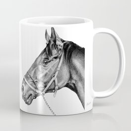 Sir Alfred - Racehorse : Graphite Coffee Mug
