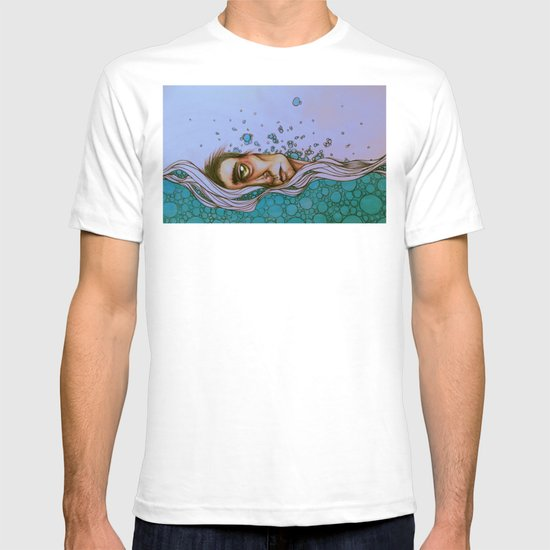 Floating On By T-shirt