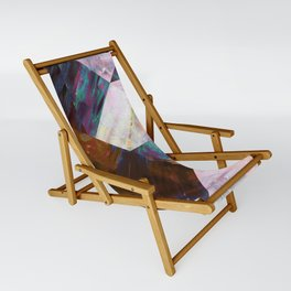 Painted Geometric Sling Chair
