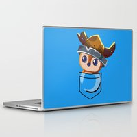 warcraft Laptop & iPad Skins featuring Viking Pepe! by SlothgirlArt