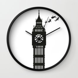 And Straight on 'Till Morning Wall Clock