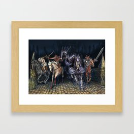 The Four Horsemen of the Apocalypse 2016 Framed Art Print