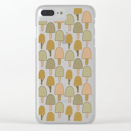 Pattern project #34 / Small Trees Clear iPhone Case