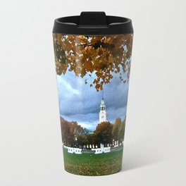 A Big Green autumn Travel Mug