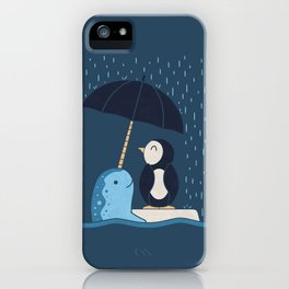 Helpful Narwhal iPhone Case