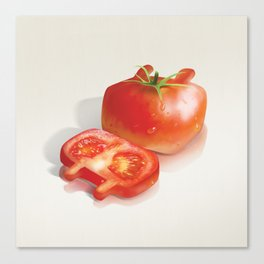 XiaoTieJun Tomato Canvas Print