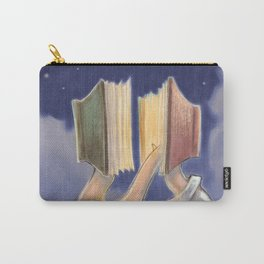 LOVE IS ALL YOU READ Carry-All Pouch