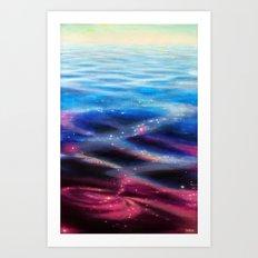 Universe Reflected Art Print