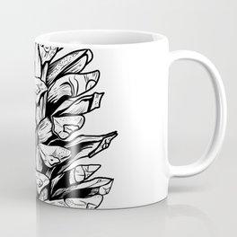 Pine cone illustration Coffee Mug