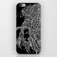 courage iPhone & iPod Skins featuring Courage~  by AnyaJocson