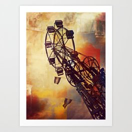 Up Above the World So High Art Print