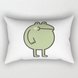 Awesome Frog Rectangular Pillow